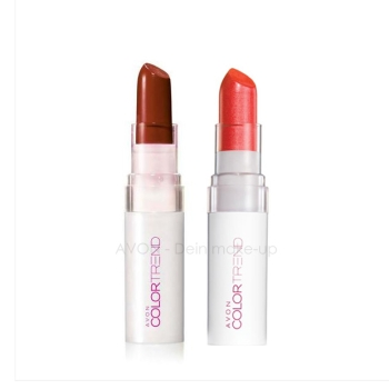 AVON Color Trend KISS `N` GO Lippenstift POPPY LOVE