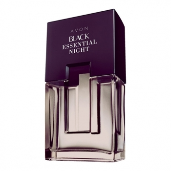 AVON BLACK SUEDE NIGHT Eau de Toilette Spray