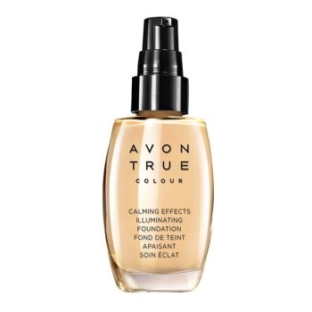 AVON True Colour CALMING EFFECTS Beruhigende Foundation für empfindliche Haut