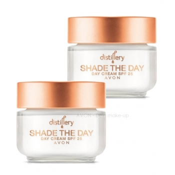 AVON Distillery SHADE THE DAY Tagescreme LSF 25 - Doppelpack
