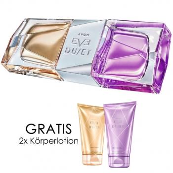 Avon Eve Duet Eau De Parfum Spray Gratis Körperlotion 16014 16071