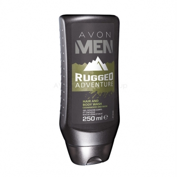 AVON MEN RUGGED ADVENTURE Shampoo & Duschgel