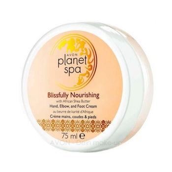 AVON Planet Spa BLISSFULLY NOURISHING Hand-, Ellenbogen- und Fußcreme