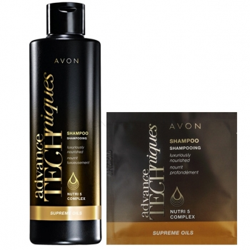 AVON Advance Techniques SUPREME OILS Intensivpflege-Shampoo Probe