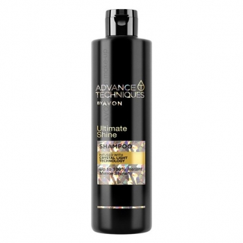 "AVON Advance Techniques ULTIMATE SHINE 2-in-1 Shampoo mit ""Crystal-Light""-Technologie /400"