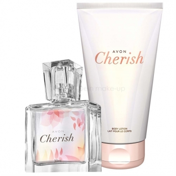 AVON Cherish 2-teiliges Duft-Set mit Eau de Parfum Spray (30) & Körperlotion