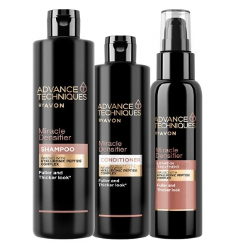 AVON Advance Techniques MIRACLE DENSIFIER 3-teiliges Haarpflege-Set