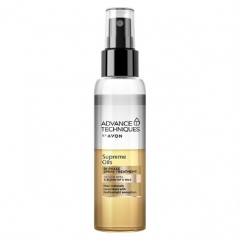 AVON Advance Techniques SUPREME OILS 2-Phasen-Pflegespray