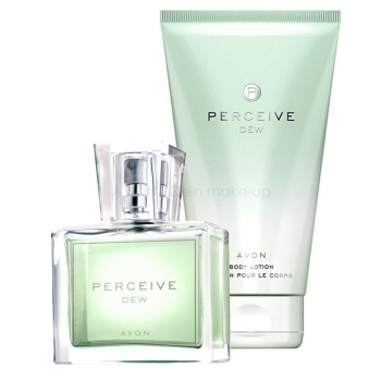 AVON Perceive DEW 2-teiliges Duft-Set mit Eau de Toilette Spray (30) & Körperlotion