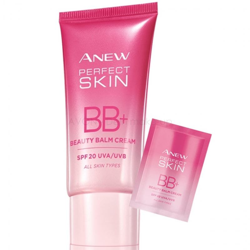 AVON ANEW Perfect Skin BB-Creme LIGHT LSF 20 Probe