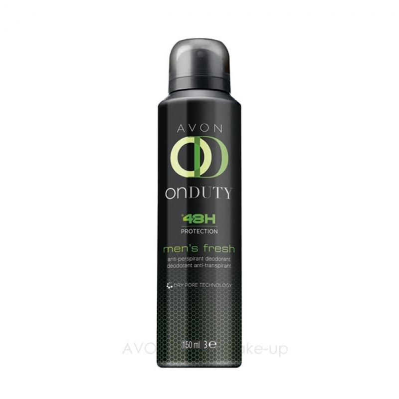 AVON On Duty 48 MEN FRESH Deospray