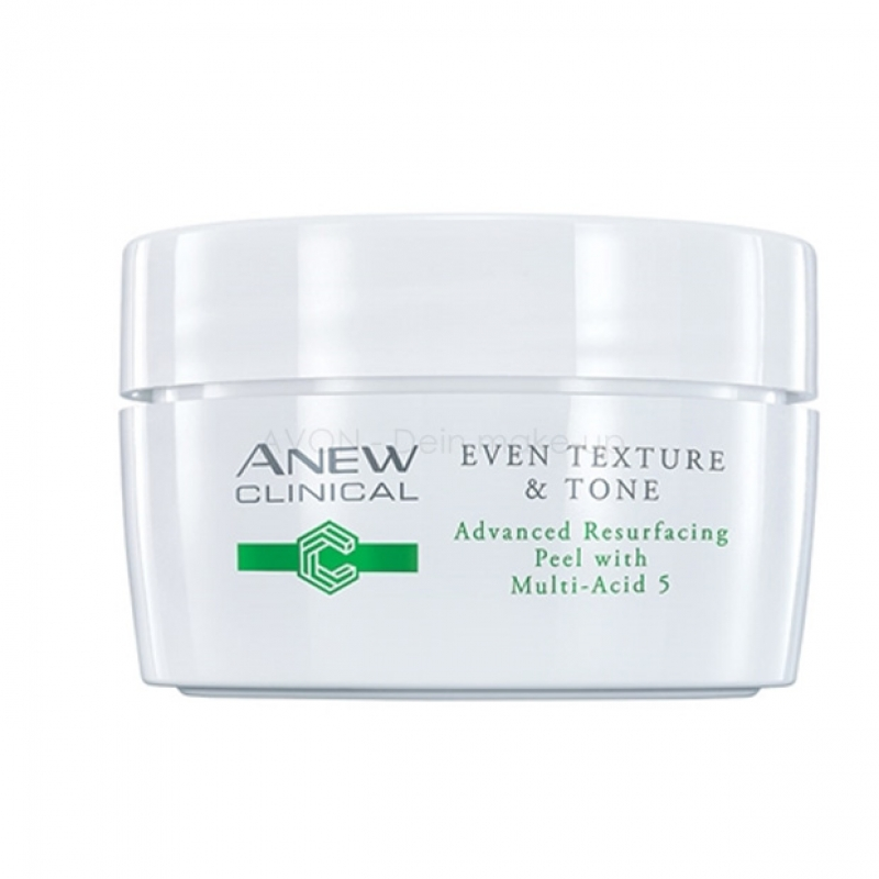 "AVON ANEW Clinical Even Texture & Tone Peeling-Pads mit ""Multi-Acid5""-Komplex"