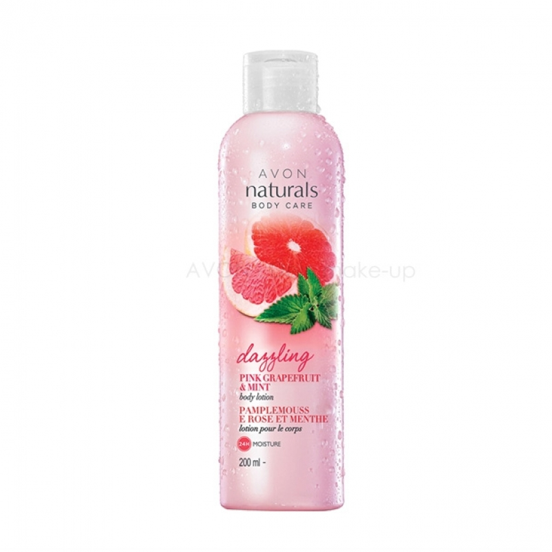 AVON Naturals Pink Grapefruit & Minze Körperlotion