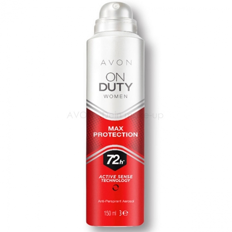 AVON On Duty Max Protection Women Deospray
