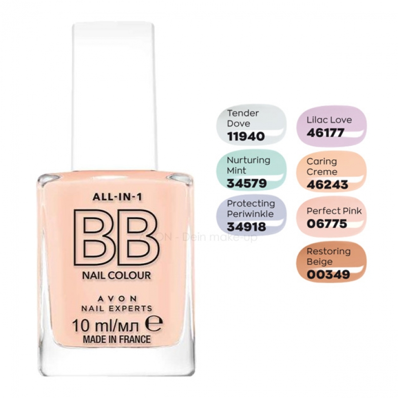 AVON True Colour BB Beauty-Balsam für die Nägel CARING CREME
