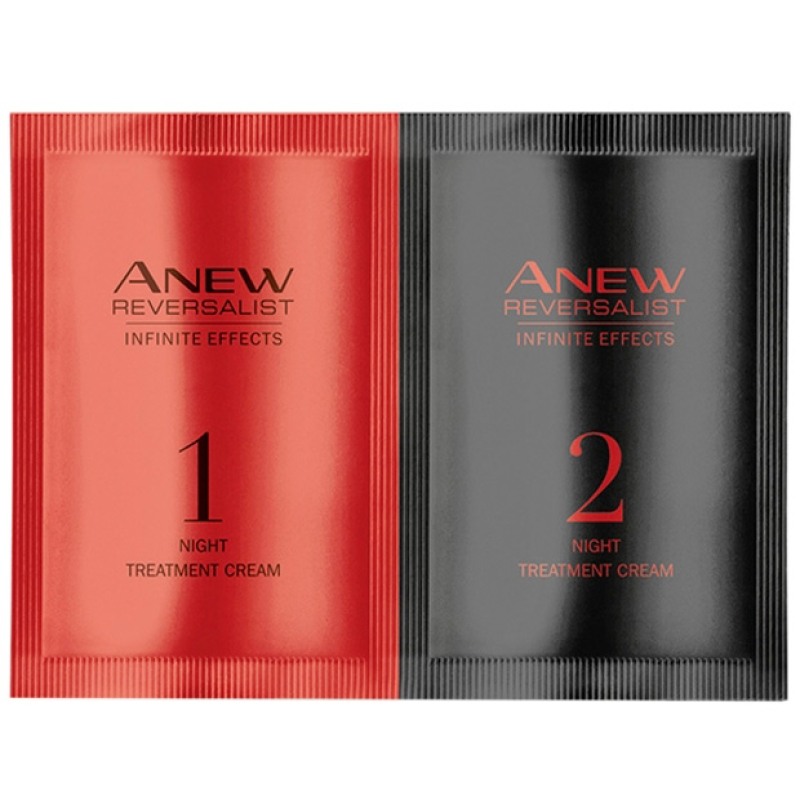 AVON ANEW REVERSALIST INFINITE EFFECTS Nachtpflege - PROBE