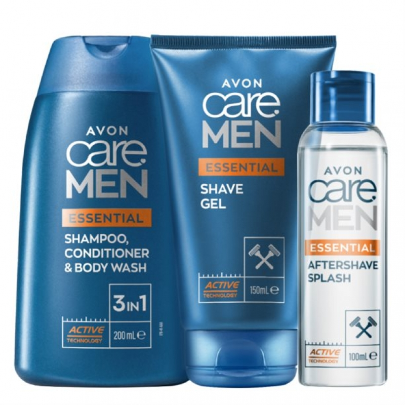 Avon Care Men 3-Teiliges Set