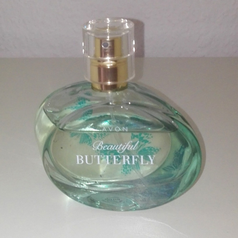 AVON Beautyful Butterfly Set Eau de Parfum Spray Körperlotion Sprühproben