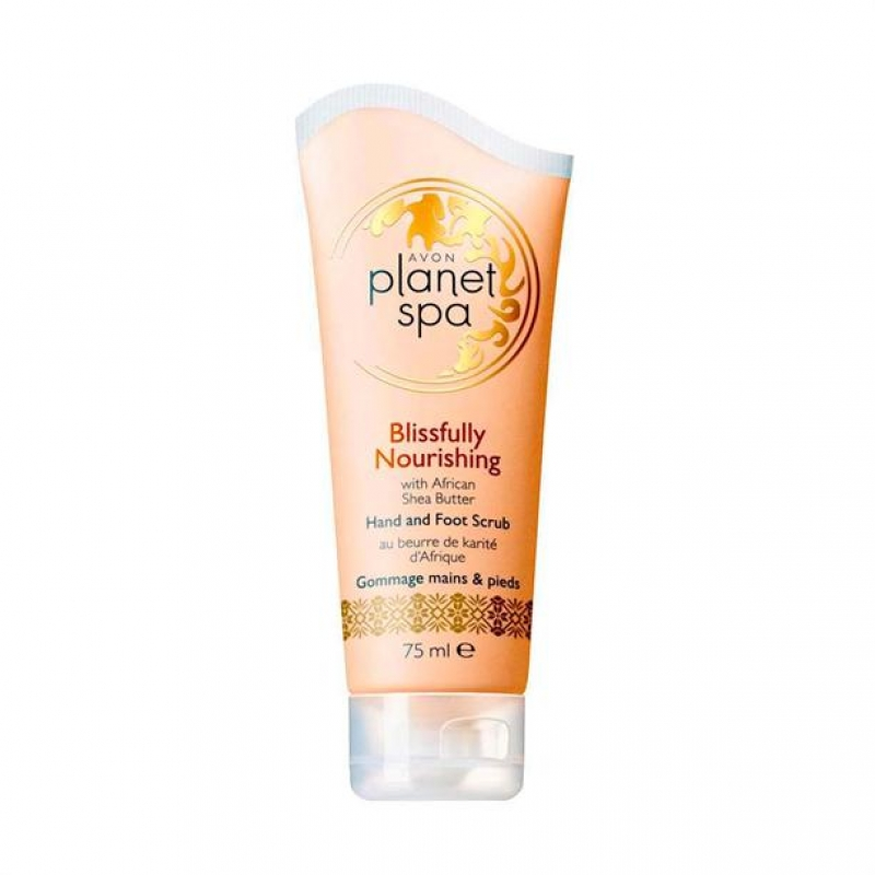 AVON Planet Spa BLISSFULLY NOURISHING Hand- und Fußpeeling